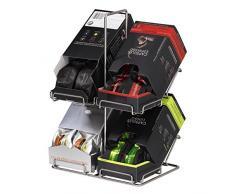 Xavax Xavax caffè Capsule stand imballaggio per sistema Nespresso, 40 Capsule, divano, Argento cromato