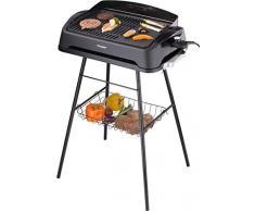 Cloer 6750 Barbecue Da tavolo Elettrico 2000W Nero barbecue e bistecchiera