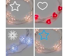 Collana Brilly Natale Led B/0