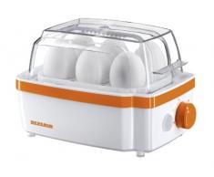 Severin EK 3158 Cuociuova Automatico, 400 W, Bianco/Arancione
