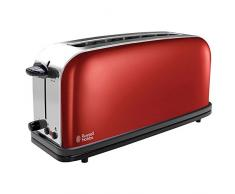 Russell Hobbs 21391-56 Colours Flame Red Tostapane in Acciaio Inox