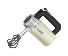 Russell Hobbs Retro Sbattitore Elettrico, 500 W, Acciaio Inox, Crema