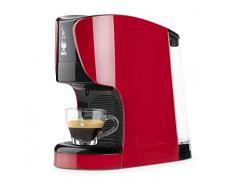 Bialetti Opera Macchina da Caffè Espresso per Capsule in Alluminio sistema Bialetti il Caffè dItalia, Rossa