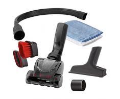 Rowenta Car Kit Composto da 3 spazzole, Precision Flex, 1 Mini Turbo, 1 per Divano, 2 Guanti Cattura Polvere, 2 Adattatori da 32 a 35 mm, Plastica