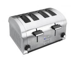 Lacor 69164- Tostapane elettrico luxe doppio 1400 W 4 fessure