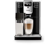 Philips Macchine da caffè Automatiche Serie 5000 EP5360/10 Macchina Automatica da Caffè, con Macine in ceramica, Filtro AquaClean, Caraffa Latte Integrata, Nero