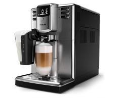 Philips Macchine da Caffè Automatiche Serie 5000 LatteGo EP5335/10 Macchina da Caffè Automatica con Macine in Ceramica e Filtro AquaClean, Caraffa LatteGo, Acciaio Inossidabile