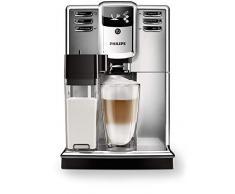 Philips Macchine da caffè Automatiche Serie 5000 EP5365/10 Macchina Automatica da caffè, con Macine in Ceramica, Filtro AquaClean, Caraffa Latte Integrata, Argento
