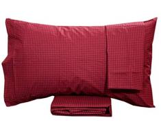Enna Bordeaux Laura Biagiotti 37 251 2 Completo Letto in Percalle 2 Piazze