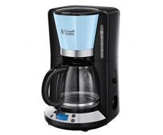 Russell Hobbs Colours Plus+ Macchina del caffè Americano, 1100 W, 1.25 Litri, Acciaio Inox, Celeste
