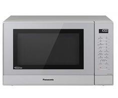 Panasonic NN-GT47KMGPG Microonde Combinato, Acciaio Inox, Argento