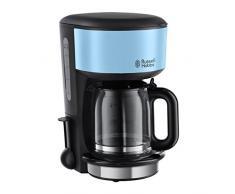 Russell Hobbs Colours Plus+ Macchina del Caffè Americano, 1000 W, 10 Tazze, Azzurro