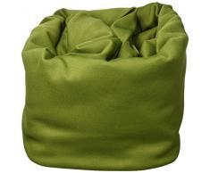 Euronovità EN-88317 Copridivano Elasticizzato 1 Posto, Cotone, Verde, 115x85x2 cm