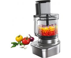 Electrolux EFP9400 Robot da Cucina Masterpiece, Tecnologia PowerTilt, 3 Lame in Titanio, Caraffa da 2 Litri, 1200 W, Grigio