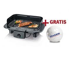 Severin PG 9710 Barbecue Da tavolo Elettrico 2300W Nero barbecue e bistecchiera