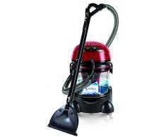 MPM MOD-22 - Lava-aspirapolvere con detergente per tappezzeria, auto, tappeti, materassi, aspirapolvere a umido e a secco, serbatoio da 10 litri, serbatoio detergente da 4,5 litri, 2400 W