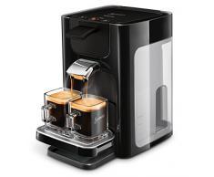 Philips Senseo hd7865/60 macchina per caffè quadrante serbatoio d acqua, XL, Nero Macchina caffè a cialde Nero brillante