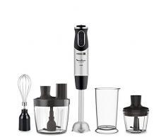 Moulinex - Frullatore a immersione QuickChef 3 accesorios + Procesador de alimentos acciaio