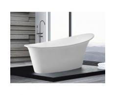 Vasca da bagno freestanding ovale in acrilico - HAITI