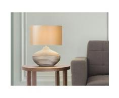 Lampada - Da tavolo - Da comodino - Colore marrone - LIMA