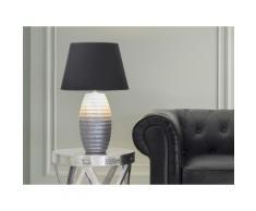 Lampada - Da tavolo - Da comodino - Color argento - EBRO