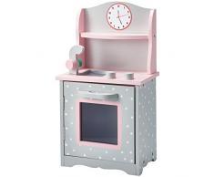 Cucina Gioco fornelli Legno per Bambole da 45 cm Olivias World TD-0211AG