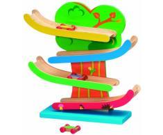 ABGee bambino giocattolo di legno diapositive auto