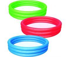Bestway 51026 - Piscina gonfiabile a 3 anelli, ca. 152 x 30 cm, Colori assortiti