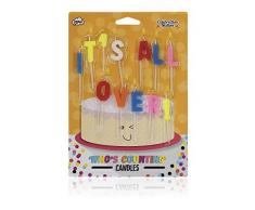 NPW torta di compleanno candele – Lost count cake decorazione celebrazione nazione