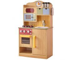 Teamson Kids- Cucina Gioco in Legno, Colore Venature, TD-11708A