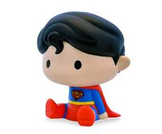 Plastoy DC Comics Superman salvadanaio Chibi, 80079, Multicolore