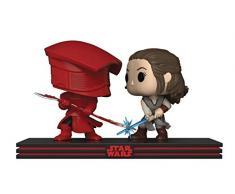 Funko 32557 - Star Wars The Last Jedi Figure Movie Moments - Rey & Praetorian Guard Statua Collezionabile
