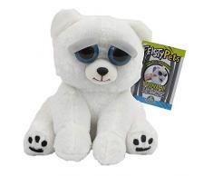 Giochi Preziosi Feisty Pets Peluche Orso Polare, 25 cm
