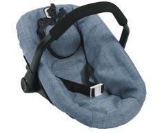 Bayer CHIC 2000 708 50 - Seggiolino da Auto per Bambole, Colore: Blu Jeans