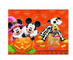 Procos 82365 - Tovaglia plastica Mickey Halloween (120x180 cm)