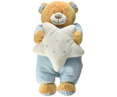 Venturelli- Peluche Baby Orsetto con Stella Grande Prima Infanzia Peluches 852, Multicolore, 8004332851349