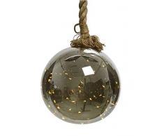 Kaemingk Pallina con Micro LED A Batteria E Corda Natale Luci E Decorazioni, Multicolore, 8719152580903