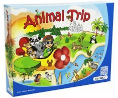 Hape 22730 - Gioco in Legno One World Animal Trip