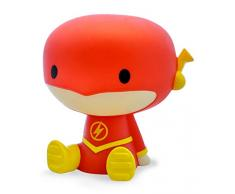 Plastoy DC Comics The Flash salvadanaio Chibi, 80078, Multicolore