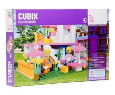 Globo giocattoli globo – 36860 cubix Villa Construction set con giardino
