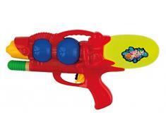 Idena 40304 – Pistola ad acqua con funzione pompa, Rosso, ca. 29 cm