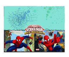 Procos 85155 - Tovaglia plastica Ultimate Spider-Man Web-Warriors (120x180 cm)