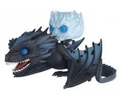 Funko- Pop Rides Game of Thrones Viserion & Night King Statua Collezionabile, Colore Standard, 28671