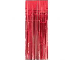 Amscan International 24200 - 40 91 cm x 2.43 m Apple Red porta tenda