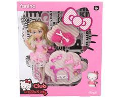 Hello Kitty Bambola con accessori Dolce 27.7 x 24.6 x 6.6