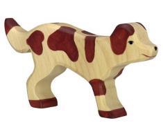 Holztiger 80058 - Figura giocattolo in legno, soggetto: cane