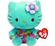 Ciao Kitty - Peluche, 15 cm, turchese (TY 41021TY)