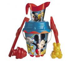 Mickey Mouse Topolino Set Secchiello Castello di 18 cm con annaffiatoio, Mondo md-312022 (Mondo 312022)