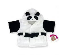 Costruisci il tuo Orsi armadio da 15 pollici vestiti adatti a costruire Orso Panda Pantofole