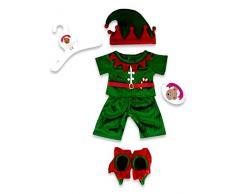 Costruisci il tuo orsi armadio da pollici vestiti adatti a costruire orso elfo outfit